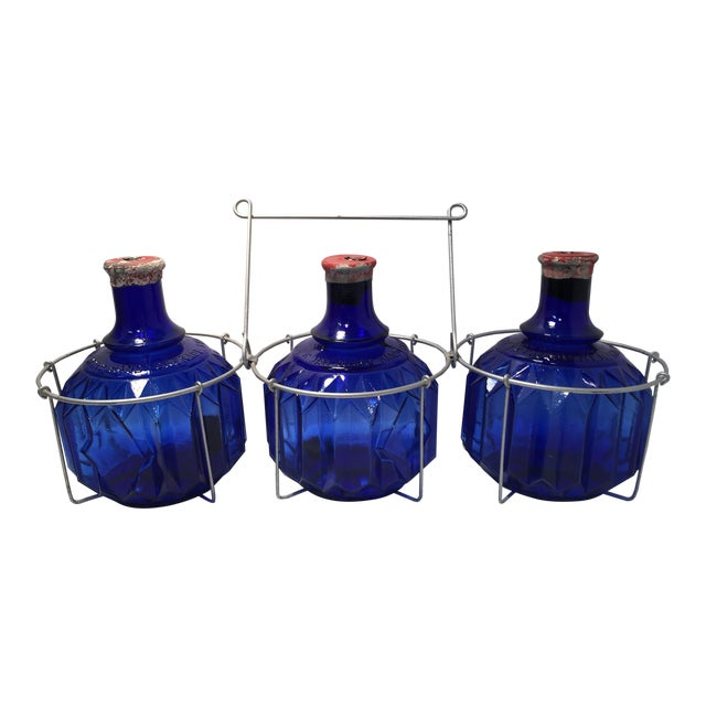 1870s Glass Fire Grenades - Set of 3 - Image 1 of 8