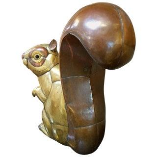 Sergio Bustamante Squirrel Sculpture