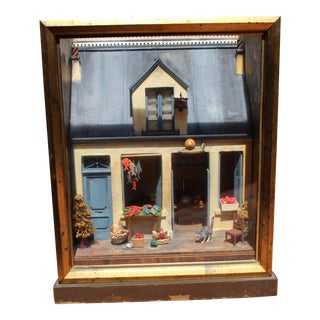 19 C. Tony Duquette French Diorama Box Lamp For Sale