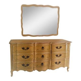 John Widdicomb Fine Furniture Dresser & Mirror
