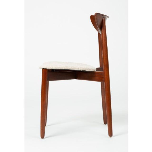 Randers Møbelfabrik 1960s Single Teak Dining / Accent Chair by Harry Østergaard for Randers Møbelfabrik For Sale - Image 4 of 13