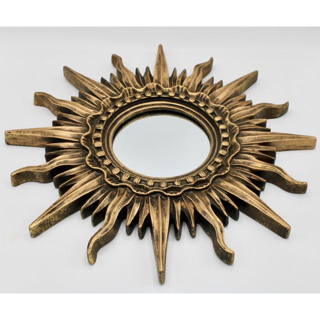 Antique French Sunburst Mirror For Sale - Image 11 of 13