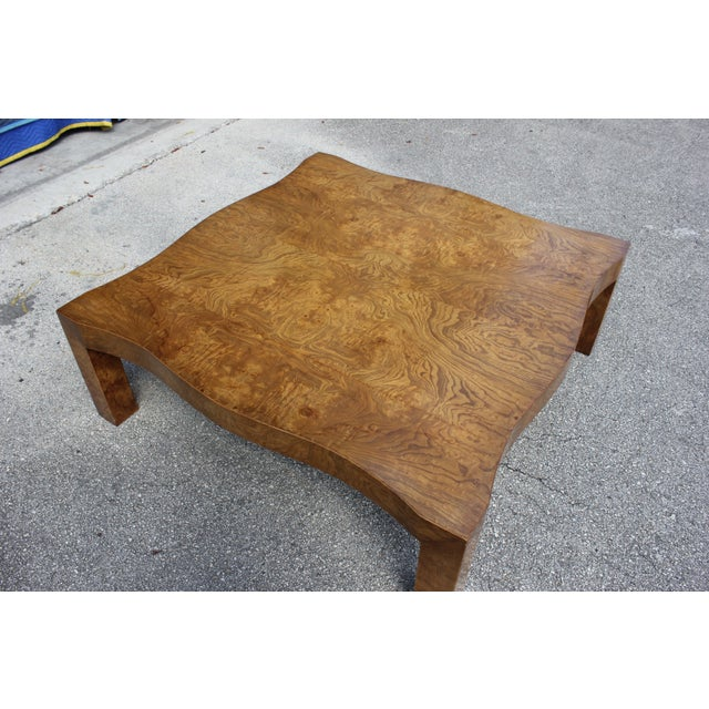 1970s Danish Modern Cherry Wood Coffee Table For Sale - Image 12 of 13