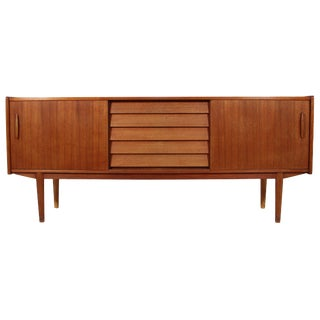 Swedish Teak Credenza by Nils Jonsson For Sale