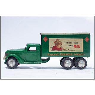 Gren Vintage Milk Truck 1930's Photo