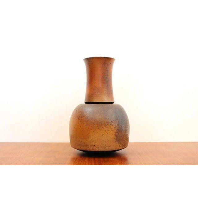German Studio Pottery vase attributed to Monika Geulig.
