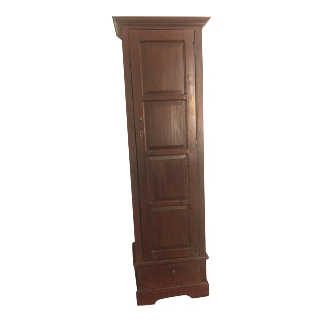 Pottery Barn Wood Cabinet - Image 1 of 5