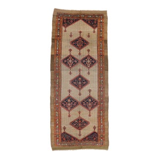 Antique Persian Malayer Gallery Rug With Arts and Crafts Style - 06'06 X 16'03 For Sale