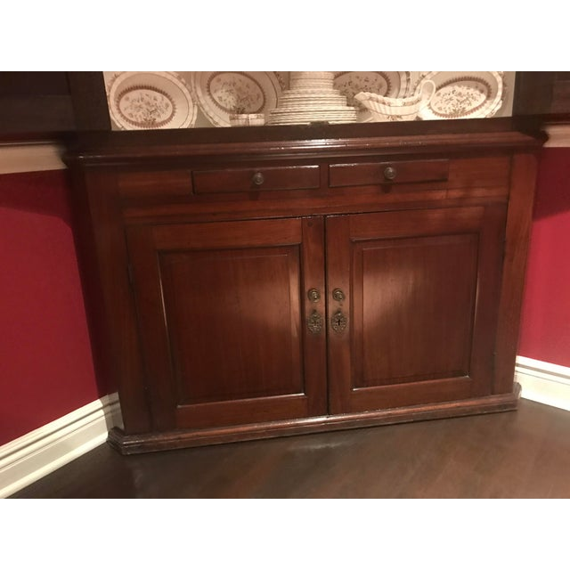 Antique Wood Corner Cabinet - *Great Price Must Sell - Image 8 of 10