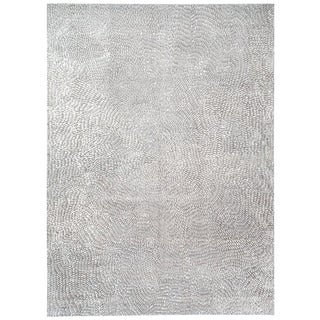 Contemporary Organic Area Rug by Carini, 10'x14' For Sale