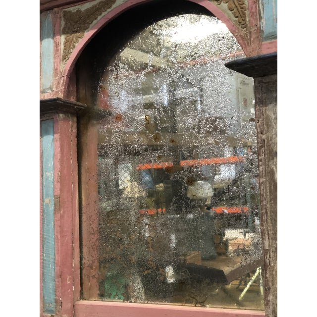 Antique Carousel Panel Mirror For Sale In New York - Image 6 of 8