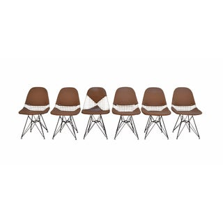 Eames Herman Miller Eiffel Tower Chairs - Set of 6