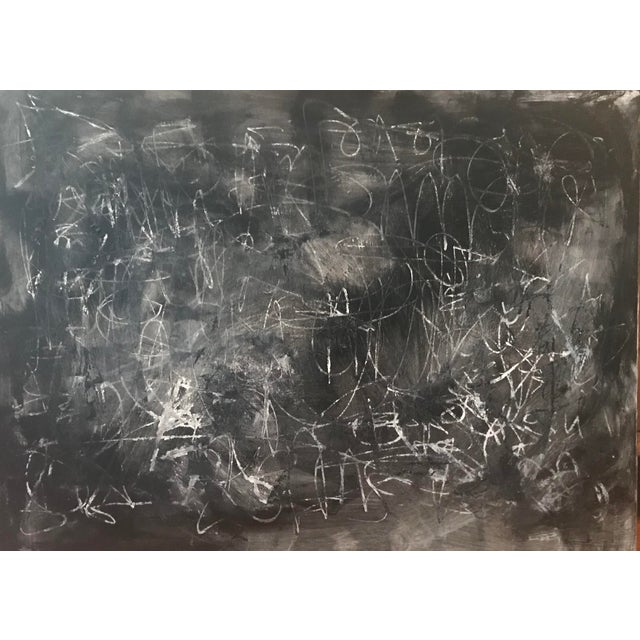"""Contemporary Abstract Painting by Sarah Trundle, """"Don't Fence Me In"""" For Sale"""