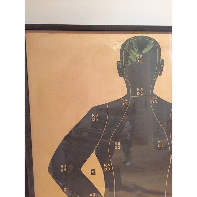 1950s Vintage Shooting Target Prints - a Pair - Image 4 of 7