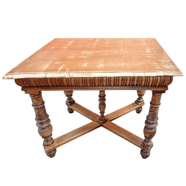 1900's Antique Italian Library/Sofa Table - Image 1 of 5