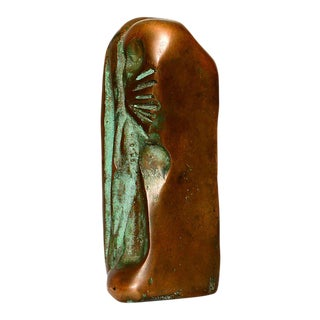 Small Abstract Bronze Sculpture in the Manner of Boyd For Sale