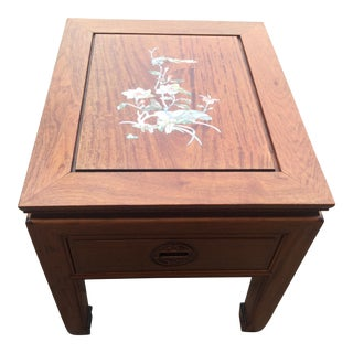 Vintage Asian Side Table For Sale
