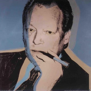 Andy Warhol, Willy Brandt, Offset Lithograph For Sale