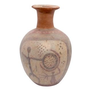 20th Century Primitive Ceramic Monkey Vase For Sale