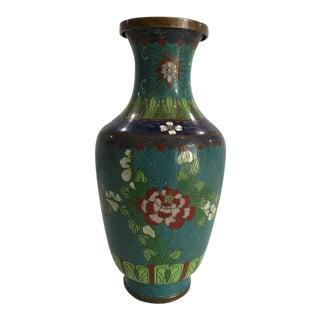 Asian Style Cloisonne Vase For Sale