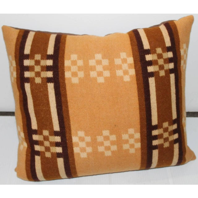 Adirondack Group of Four Horse Blanket Pillows For Sale - Image 3 of 10