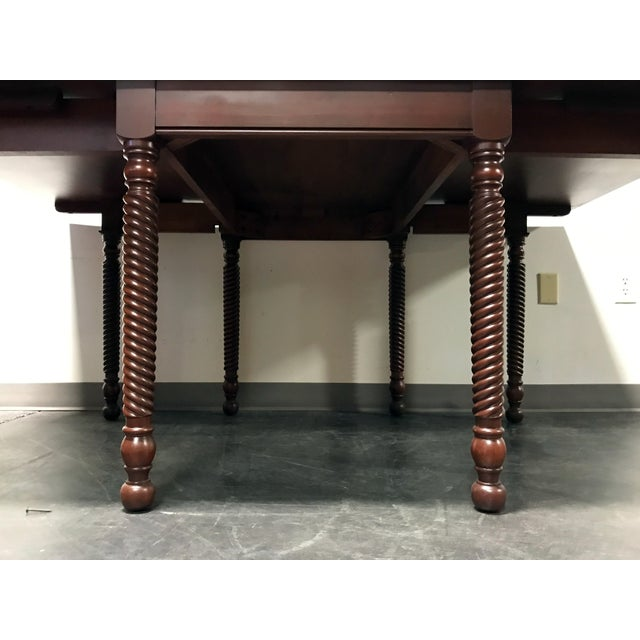 Traditional Willett Cherrywood Gate Leg Drop Leaf Dining Table For Sale - Image 3 of 11