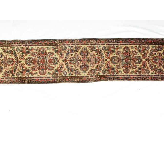"Leon Banilivi Antique Hamadan - 2'5"" X 14'8"" For Sale - Image 4 of 5"