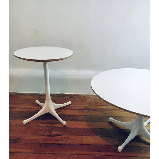 1950s Herman Miller George Nelson Pedestal Side Table Mid Century Modern Eames For Sale - Image 5 of 9