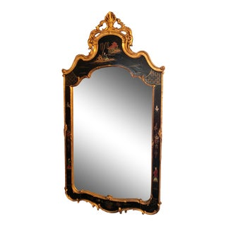 1950s Chinoiserie Friedman Mirror For Sale