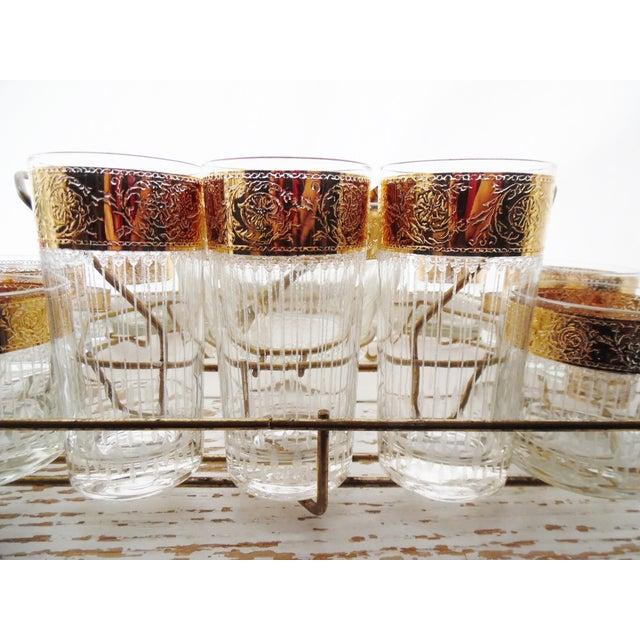 Culver Mid-Century 1950s Tyrol Barware Set For Sale - Image 11 of 11