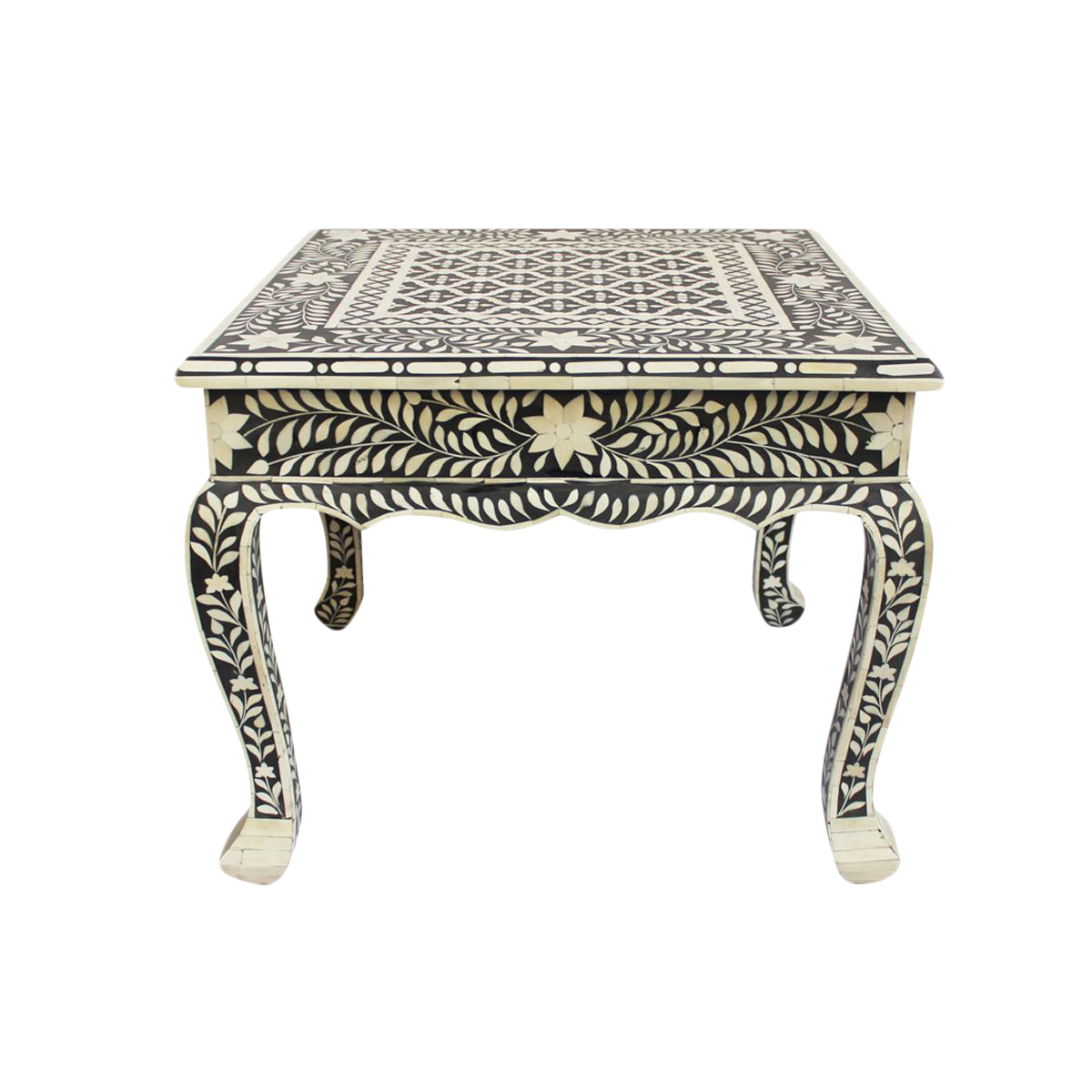 Bone Inlay Coffee Table / Side Table