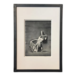 "Rockwell Kent ""Beowulf and Grendel's Mother"" 1931 Lithograph For Sale"