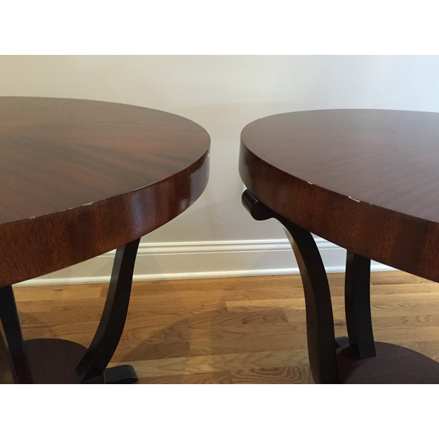 Art Deco Styke Rosewood Side Tables - A Pair - Image 4 of 4