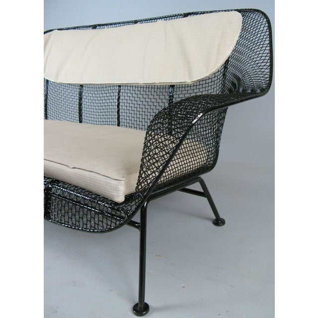 1950s Classic 1950s 'Sculptura' Settee by Russell Woodard For Sale - Image 5 of 7