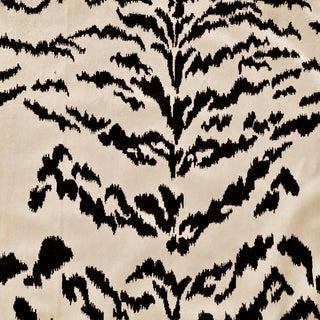 Clarence House Tigre Velours Soie Silk Velvet Designer Fabric by the Yard For Sale