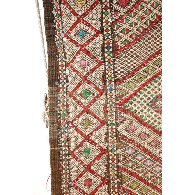 Vintage Zaiane Moroccan Tribal Runner Rug, Circa 1960 For Sale - Image 4 of 7