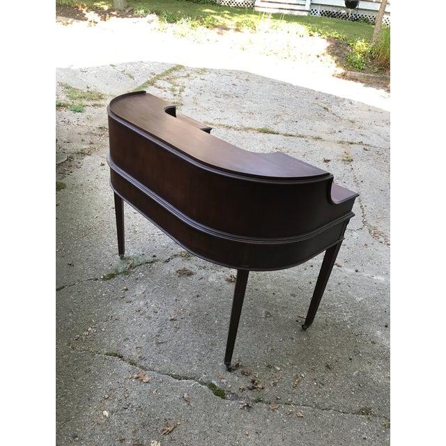 Lake Forest Estate Grand Rapids Furniture Carlton Adam Style Desk - Image 4 of 11