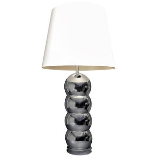 Chrome Ball Lamp Attributed to Kovacs For Sale