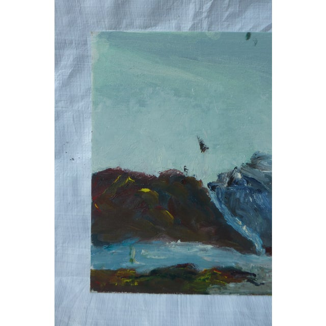 MCM Painting of Rocky Ocean H.L. Musgrave - Image 3 of 6