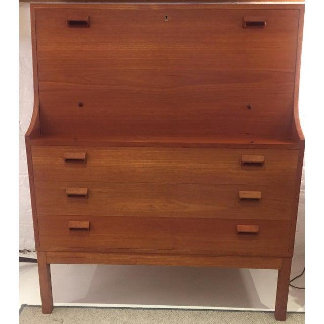 Mid Century Borge Mogensen Desk For Sale - Image 4 of 6