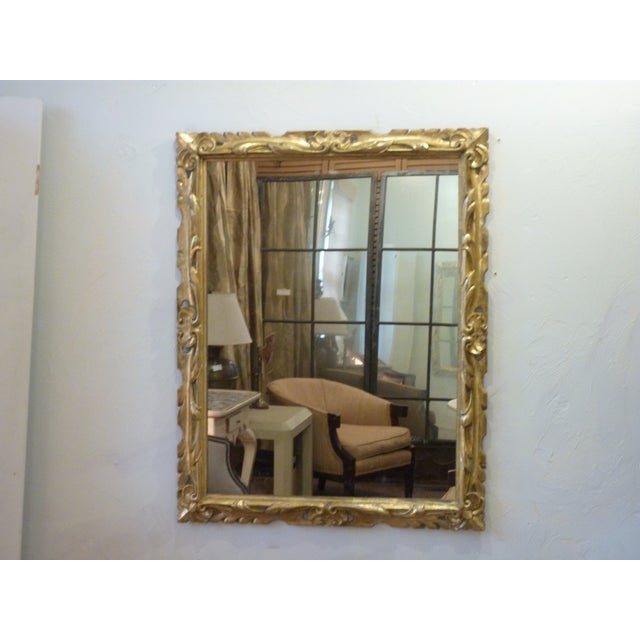 19th C. Italian Carved Giltwood Mirror - Image 6 of 6