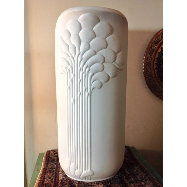 German Porcelain Michaela Frey Op Art Tall Vase - Image 2 of 9