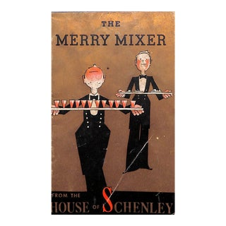 """""""The Merry Mixer"""" Cocktail Book For Sale"""