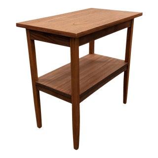 Vintage Danish Mid Century Side Table - Dobbelt For Sale