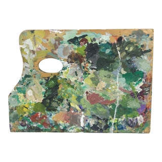 French Artist's Painter's Palette