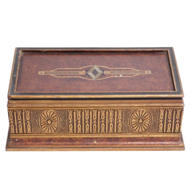 Image of Italian Golden Jewelry Box