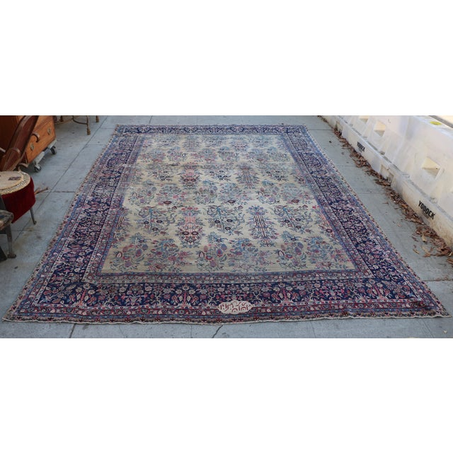 Large Persian Rug - 9′9″ × 14′4″ - Image 4 of 11