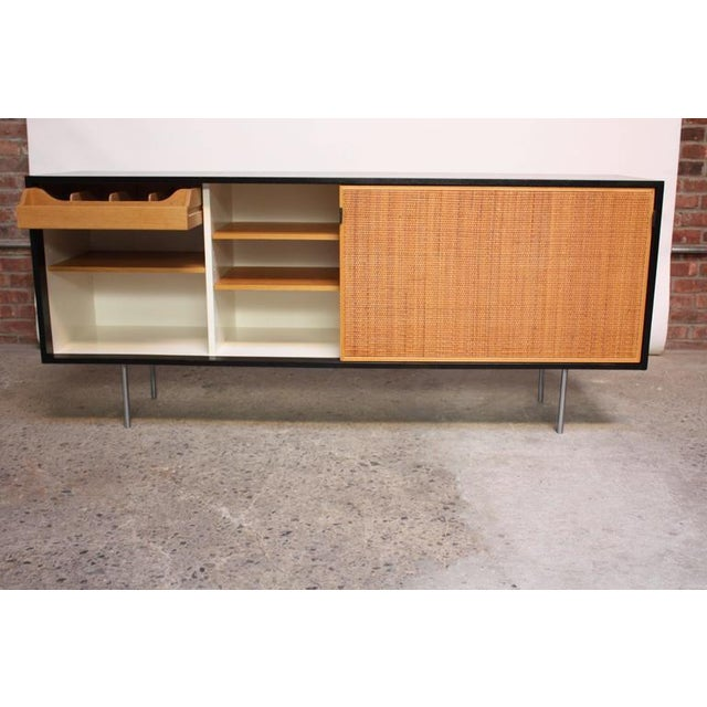 Early Florence Knoll Ebonized Credenza - Image 3 of 10