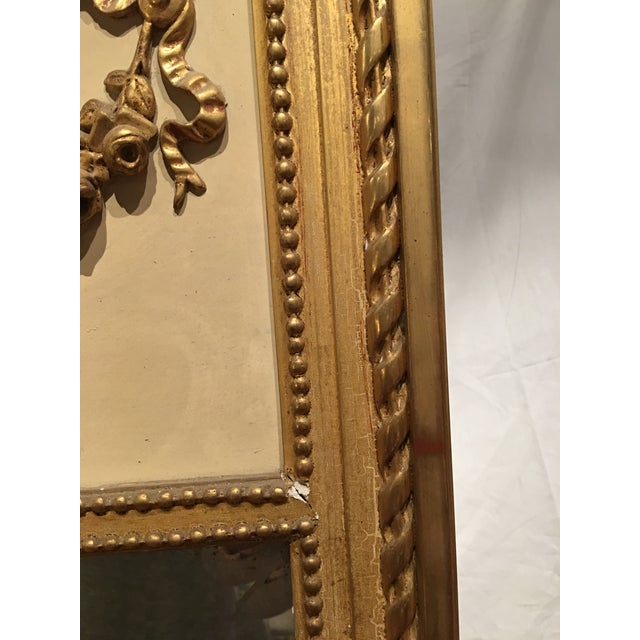 Louis XVI Style Mirror For Sale - Image 6 of 9