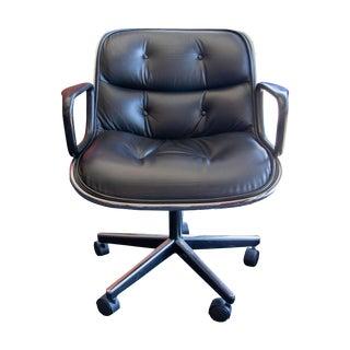 1960s Vintage Knoll Pollock Executive Chair For Sale